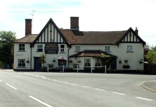 'The White Horse' inn, Capel St. Mary, Suffolk