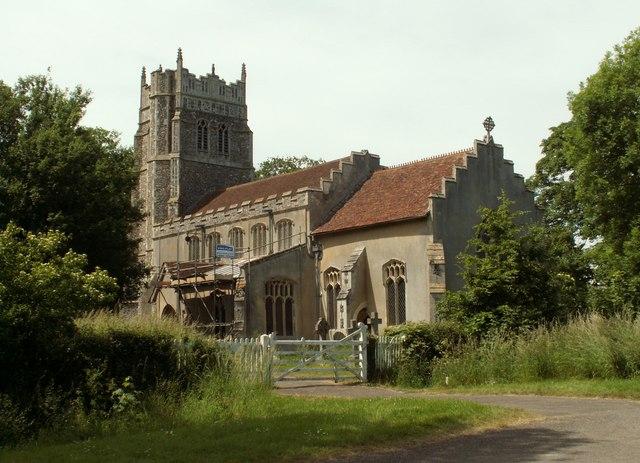 St. Mary's church, Little Stonham, Suffolk