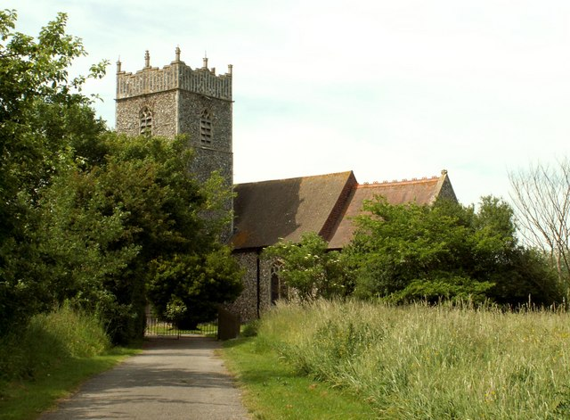 St. Mary's church, Gosbeck, Suffolk