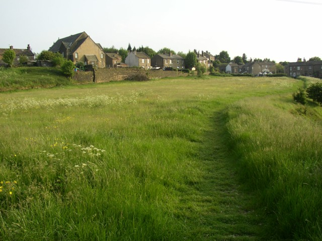 Southern end of Scar Edge, Elland