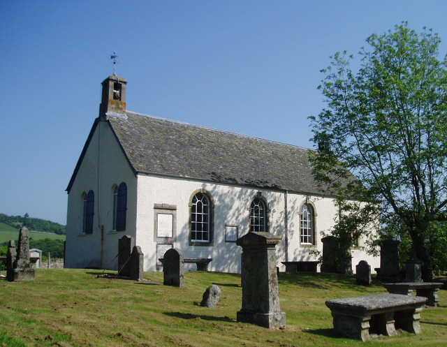 Traquair Kirk and Kirkyard