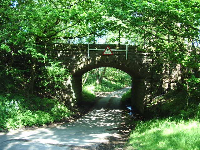 Railway Bridge  over Jordan Lane