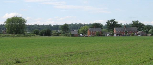 The outskirts of Bromham