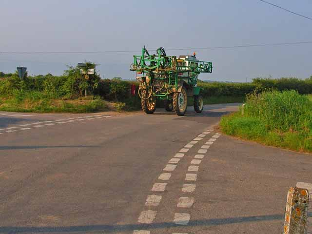 Cropsprayer takes to the road