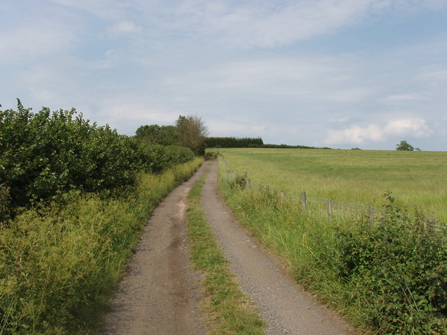 Track to Leatherslade Farm, near Oakley
