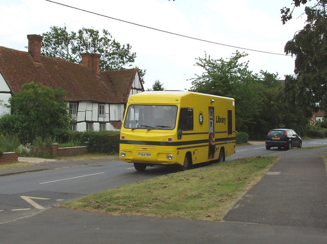 Mobile library at Oakley