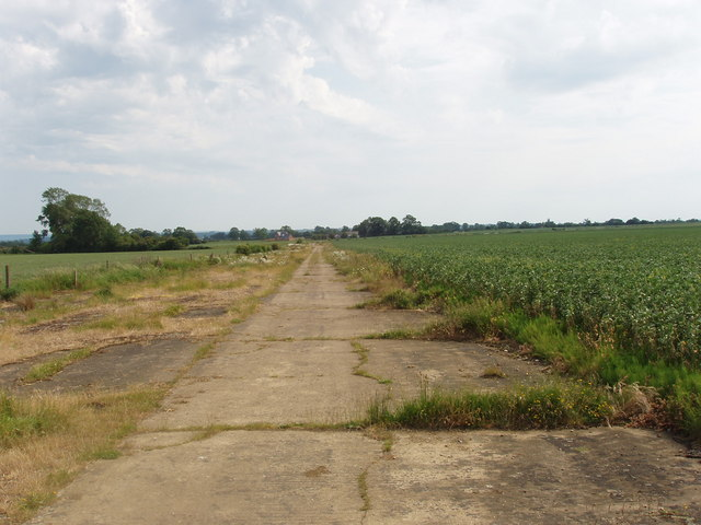 Perimeter, former Oakley Airfield, where ejector seats were developed
