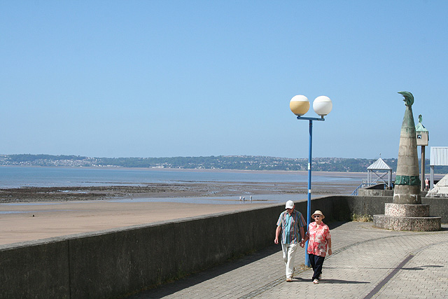Swansea: sea front
