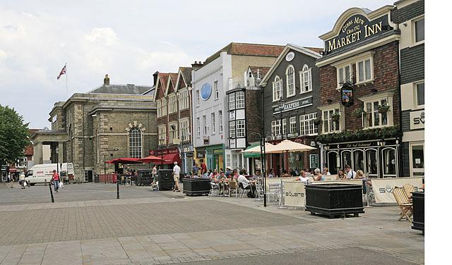 Ox Row, Market Place, Salisbury