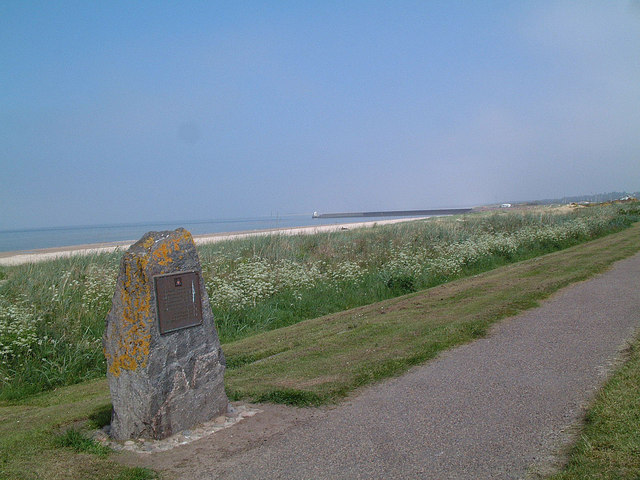 D Day Memorial at Fishertown, Nairn