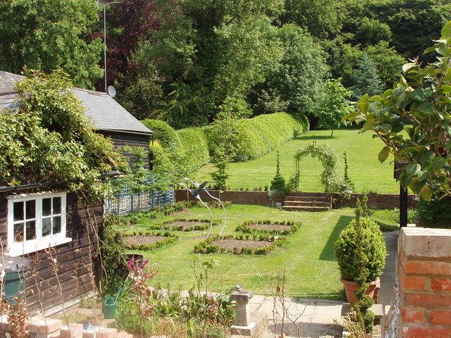 Garden at Lily Farm, near Speen