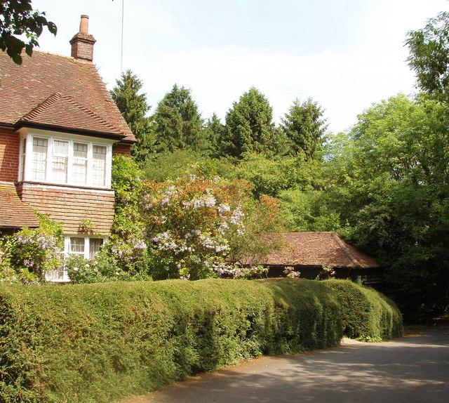 House and wisteria, Redland End, Hampden