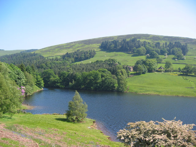 Ladybower Reservoir and Pike Low