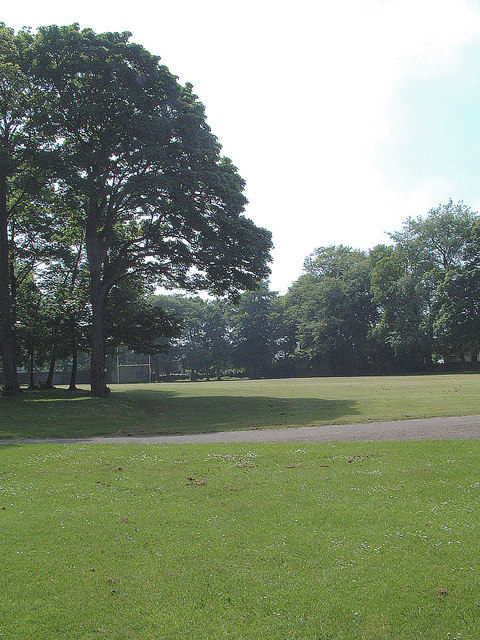 Rugby Pitch in Nairn