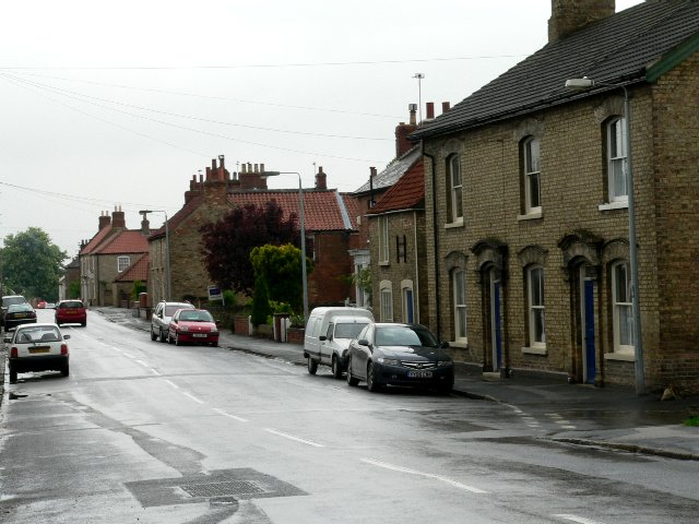 Houses on Westgate, North Cave