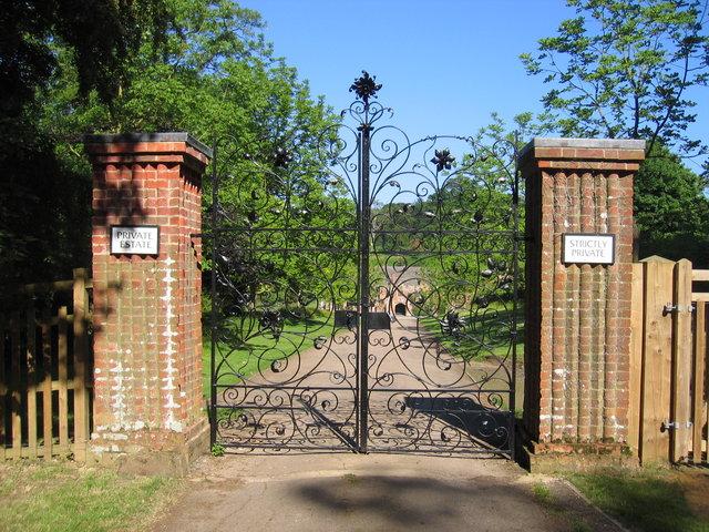 Gates to Compton Wynyates