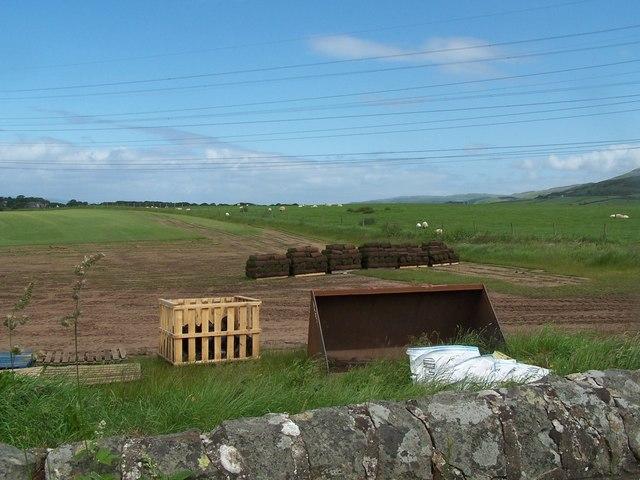 Thirdpart- West Kilbride, Turf Farming