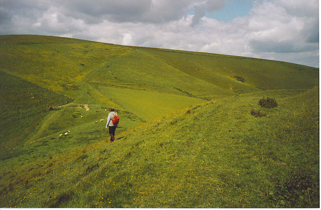 Tan Hill from Rybury Hillfort.