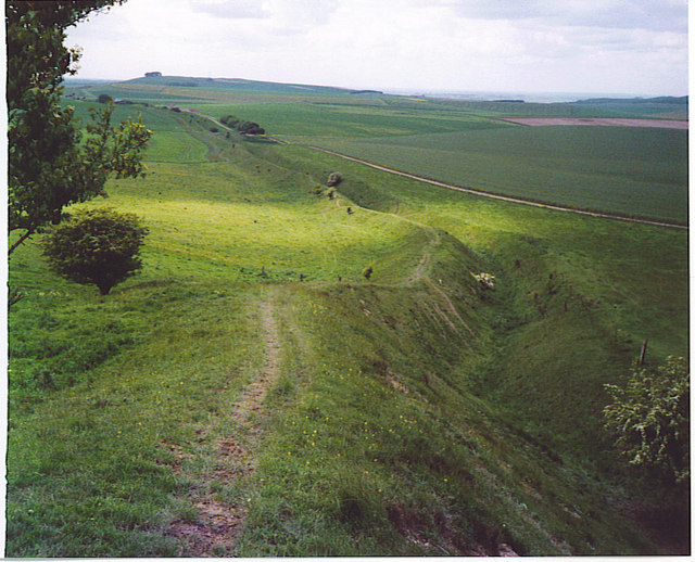 The Wansdyke, North-west of Tan Hill.