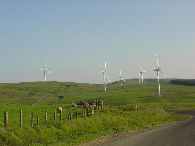 Wind Turbines - Hadyard Hill windfarm