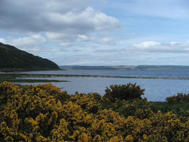 Catacol Bay.