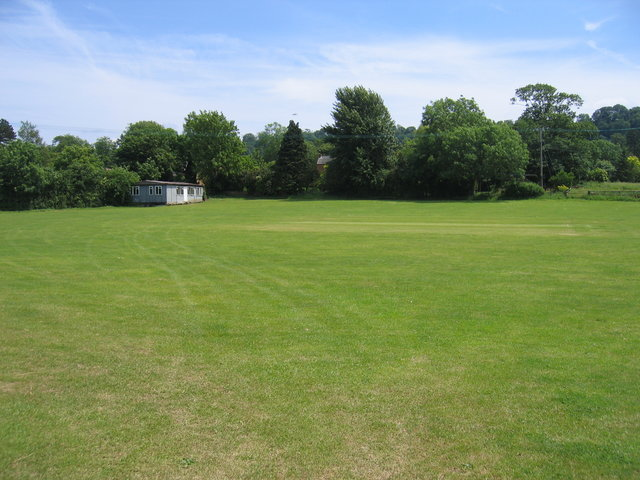 Cricket field at Radway
