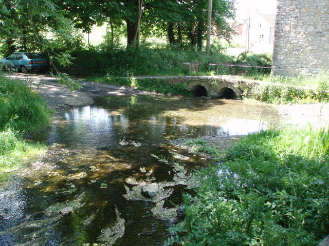 The ford at Chewton Mendip