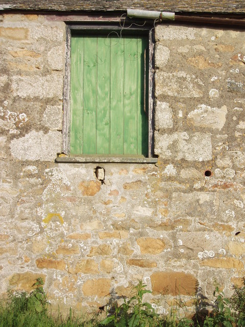 Barn door at Truthwall