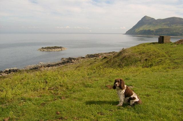 Hamilton Island, from Clauchlands Point, Arran