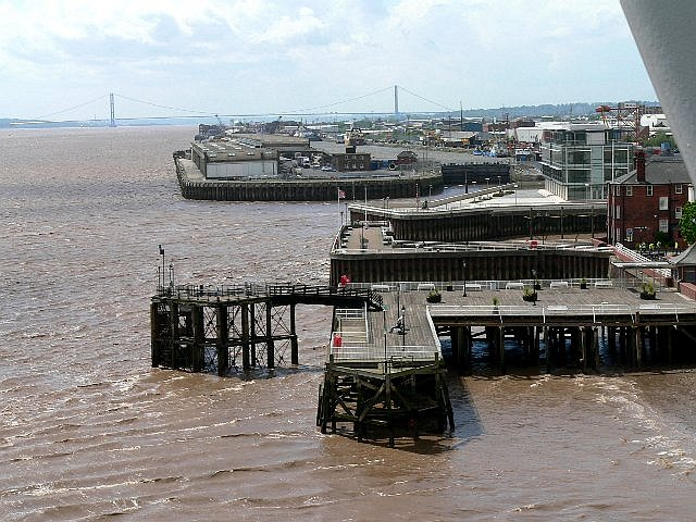 Victoria Pier and Riverside Quay, Hull