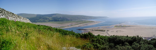 Mawddach Estuary from Dinas Oleu