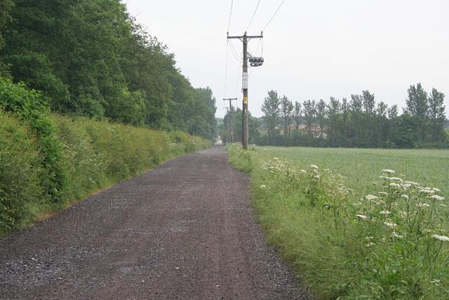 Farm Road near the A46, Fosse Way