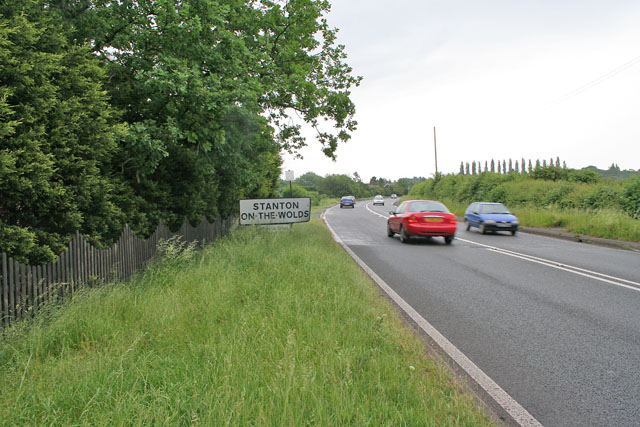 A607, Nottingham to Melton Mowbray road