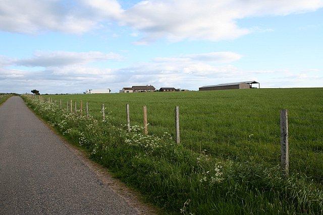 Farm south of Cummingston