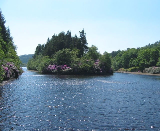 Island in Derwent Reservoir