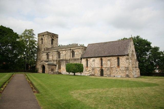 St.Oswald's church, Crowle