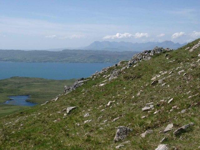 Hillside above Loch Coire a Phuill