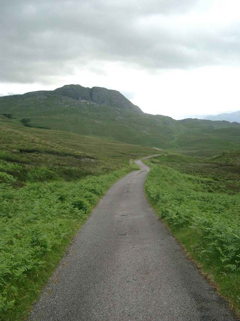 The Airor to Inverie road