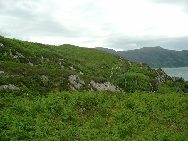 The north side of Torr Mor