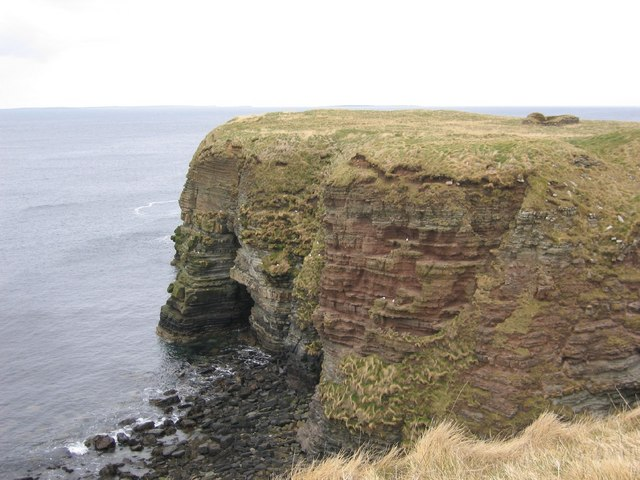 Ancient Settlement on Brough of Deerness