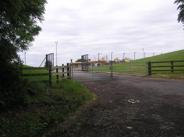 Gas Pumping Station ; Sandy Leas Lane