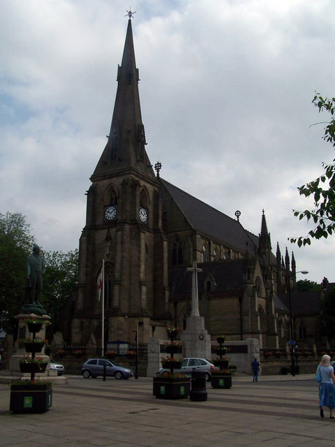 Bury parish church