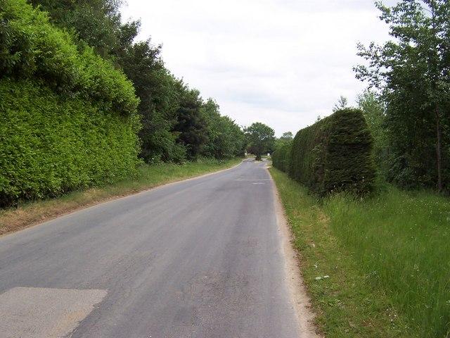 Access Lane to Potgate Quarry