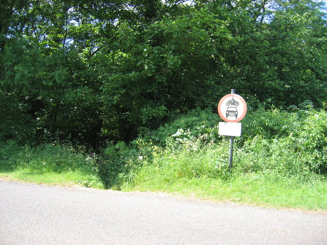 Top of King John's Lane