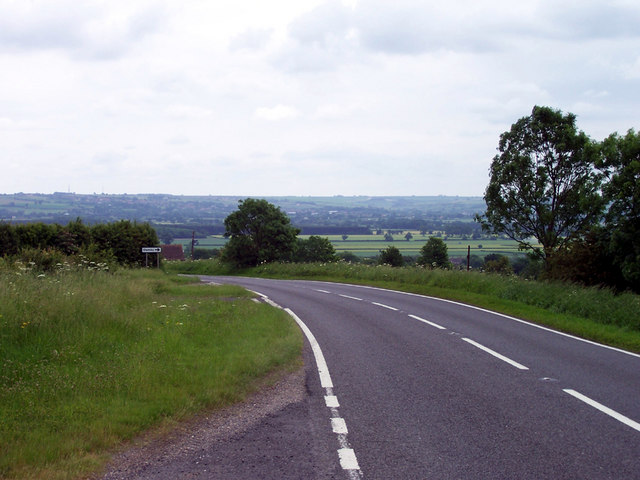 A1084 near Owmby