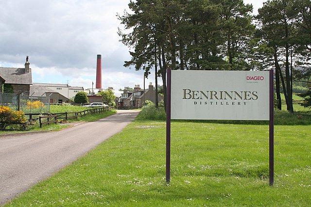 The beloved Benrinnes distillery!!
