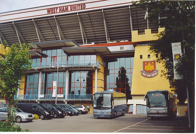 Upton Park, West Ham United FC.