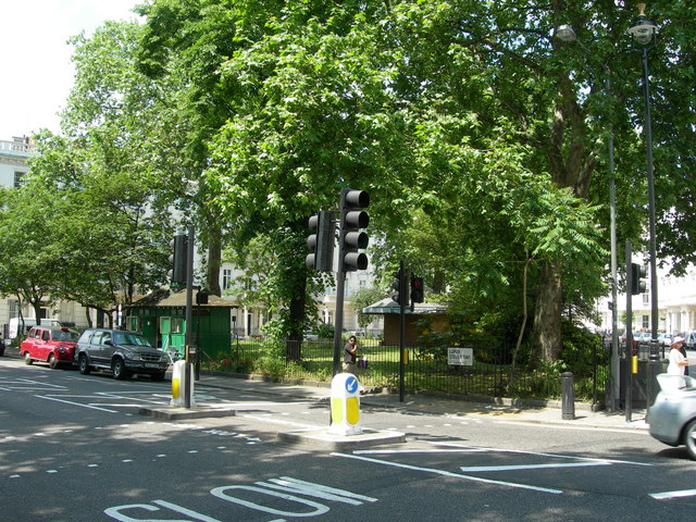 Lupus Street at St George's Square SW1