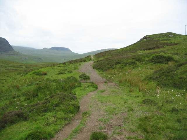 Track from Fiskavaig to Talisker