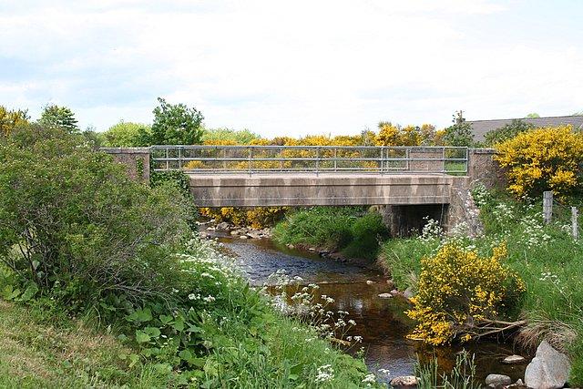 Bridge over Burn of Aberlour at Edinvillie.